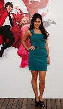 Vanessa Hudgens 8X10 cute blue dress full