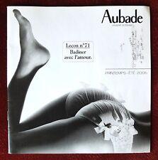 Aubade ~ Lingerie Catalog ~ Spring/Summer 2006 ~ Nightwear Swimwear