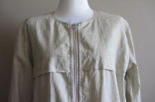 Etoile ISABEL MARANT Clayton coated linen-blend jacket, size 40, AUS 8-10