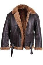 Abrigos y chaquetas de hombre marrón de piel talla XS