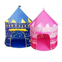 Fashion Princess Children Tent Game House Ball Pool Tent Baby Crawling Toy House