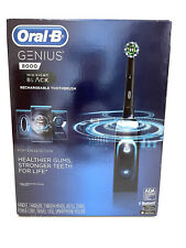 New Sealed Oral-B Genius 8000 Rechargeable Electronic Toothbrush Midnight Black
