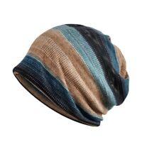 Women Men Knitted Winter Warm Hat Oversized Ski Slouch Hat Cap Baggy Beanies