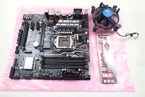 ASUS H270M-PLUS Socket LGA1151 PCIe DDR4 USB-C Micro ATX Motherboard w/ Heatsink