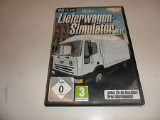 PC simulatore furgoni 2010