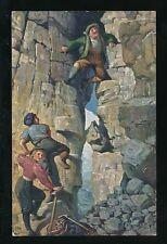 sport Mountaineering Alpine climbing c1920/30s? PPC
