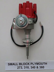 PLYMOUTH 273-318-340-360 RED Small Female Cap HEI Distributor READY-TO-RUN NEW!!