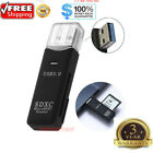 USB 3.0 2 in 1 HighSpeed Memory Card Reader Adapter for Micro SD SDXC TF T-Flash