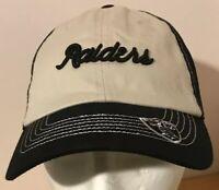 Oakland Raiders Womens Cap Hat NFL Team Apparel NWT
