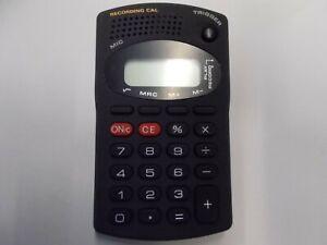 Calculadora de Bolsillo Con Grabación B-607, #K-70-8