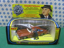 Vintage -  KOJAK'S Buick regal TV series  -   Corgi Toys 290  Superbe/Mint