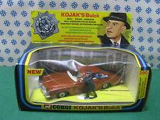 Vintage -  KOJAK'S Buick regal TV series  -   Corgi Toys 290  Superbe/Mint