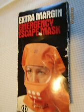 Masks Vtg 80s Extra Margin Emergency Escape & heat, smoke and gases A