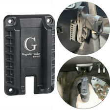 Magnetic Gun Mount  for Vehicle Home or Office Magnet Firearm Accessories Black