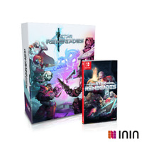 Star Renegades COLLECTOR'S EDITION Nintendo Switch + Artbook Soundtrack OST EU