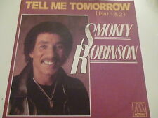 45 Tours SMOKEY ROBINSON Tell me tomorow 101607