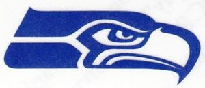 REFLECTIVE Seattle Seahawks fire helmet decal sticker up to 12 inches