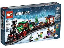 LEGO 10254 Winter HOLIDAY TRAIN SET NATALE Nuovo Di Zecca Sigillato