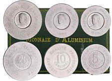 Troisième République - Coffret de 3 essais 25, 10 et 5 centimes 1909 de Rude