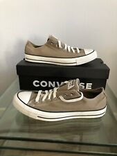 Converse Chuck Taylor All Star Mens Khaki Low Top Trainers UK Size 11