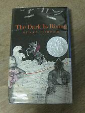 THE DARK IS RISING by Susan Cooper -1st/2nd printing HCDJ 1974 - Newbery Award