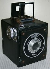 Vintage Gnome Pixie Roll Film Box Camera Photograpy - Black