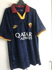 AS Roma Third Shirt Jersey 2019/20 XL Used See Description