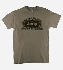 Jeep USA T-Shirt 4 x4 Lustig Design Wachs Hemd Ideales Geschenk