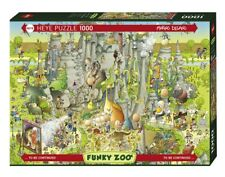 MARINO DEGANO - JURASSIC HABITAT - Heye Puzzle 29727 - 1000 Pcs.