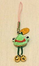 NWOT Lucky Frog Cell Phone Strap Pendant Bought in Japan 2001