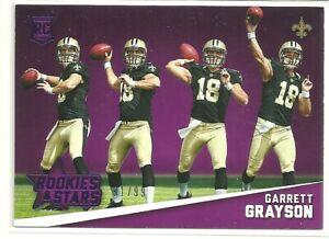 2015 Rookies & Stars Progression Purple Parallel Garrett Grayson RC 91/99 #RP18