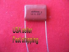 7 pcs  -  1.0uf  (1uf)  250v Metalized  Poly Film NP Nichicon capacitors