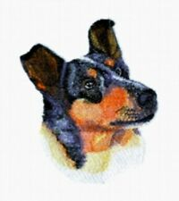 Embroidered Ladies Short-Sleeved T-Shirt - Smooth Collie Bt4433