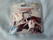 Tsubasa Reservoir Chronicles Mokona rubber pins x2 CLAMP Japanese Anime