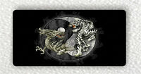 TIGER AND DRAGON WITH  YIN AND YANG SYMBOL FRIDGE LARGE MAGNET -gjy6Z