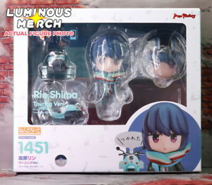 GSC Laid-Back Yuru Camp Rin Shima Touring Ver. Nendoroid 1451 - NEW from USA