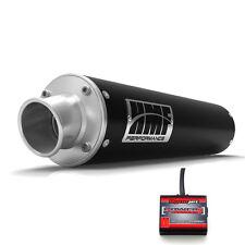 HMF Performance Slip On Exhaust Pipe Black Power Commander PC5 F+I Raptor 700