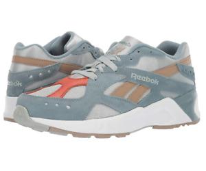 Reebok Men's AZTREK Shoes, Sea Spray/Teal Fog/White/Sand Beige, 10 M US