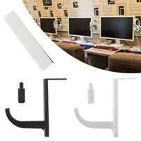Headphone Headset Hanger Desk Wall PC Monitor Stand Headset Stick-On Hook Holder
