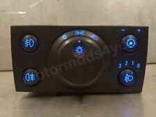 Vauxhall Vectra C / Signum Blue Led Headlight Switch Front & Rear Foglights Fogs