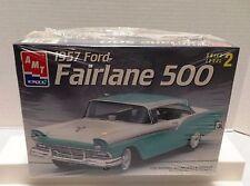 AMT ERTL 1957 FORD FAIRLANE 500 MODEL KIT SKILL LEVEL 2 NEW IN SEALED BOX
