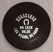New ListingHorseshoe Casino Brown No Cash Value Chip