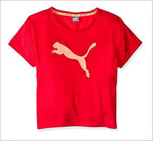 PUMA Underwear Sport Girl T-Shirt Tops short Sleeve Dry Cell 7-8 Years 128 CM