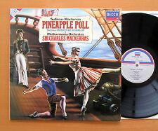 SXDL 7619 Sullivan Pineapple Poll Charles Mackerras Philharmonia 1983 NM/EX