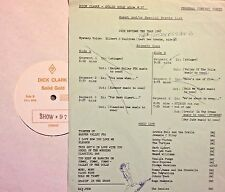 Radio Show: DICK CLARK GOLD #97 1968! BOBBY VINTON, TURTLES, VANILLA FUDGE