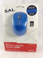 Microsoft Wireless Mobile Mouse 3500 Studio Series Limited Edition Cobalt Blue