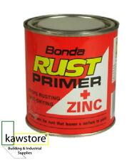 BONDA RUST PRIMER + ZINC, Anti Rust, Fast Drying, Red, 2.5 Litre