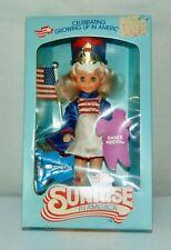1982 Sunrise In America Doll Majorette Boxed Charm Bracelet Rare Blonde!