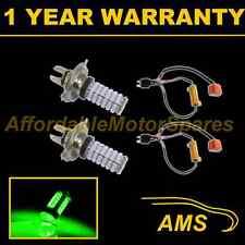 2x H4 Verde 120 Led Frontal principal de irradiación & húmedas Beam Faros Kit De Xenon hm501001