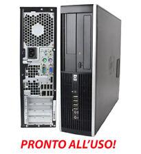 PC HP 8000 ELITE PRO RICONDIZIONATO RIGENERATO E7500 DESKTOP INTEL WINDOWS 7